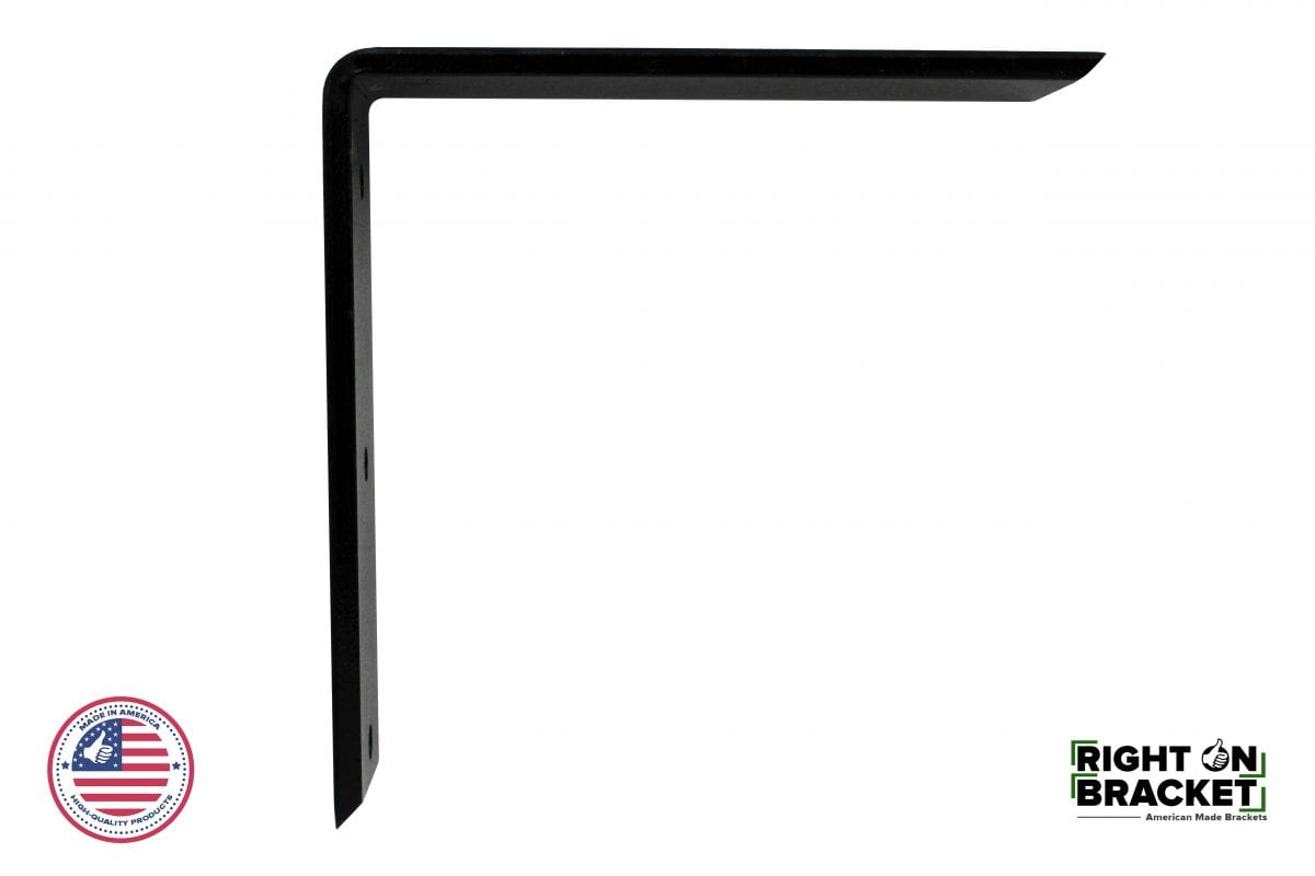 Steel RIght Angle Granite Countertop Support Bracket