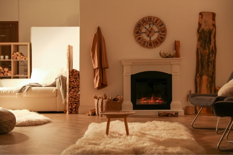 Creative Ways To Decorate a Faux Fireplace