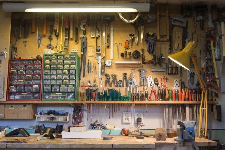 The Best Countertop Materials for a Garage Workbench